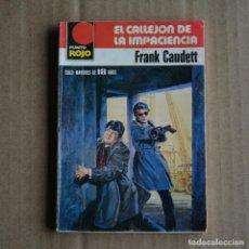 Libros de segunda mano: FRANK CAUDETT. COLECCION PUNTO ROJO, Nº 963. BOLSILIBROS BRUGUERA. LITERACOMIC. Lote 245775655