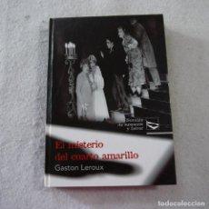 Libros de segunda mano: NOVELAS DE SUSPENSE Y TERROR. EL MISTERIO DEL CUARTO AMARILLO - GASTON LEROUX - RUEDA - 2008. Lote 245775815