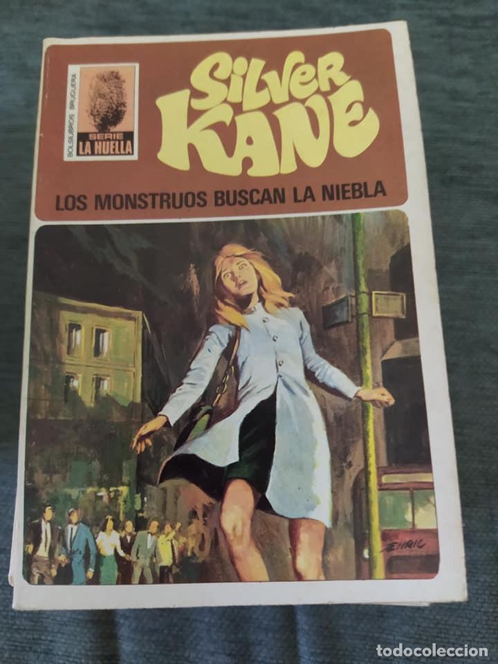 """NOVELAS POLICIACAS COLECCION LA HUELLA NÚMERO 29 """"LOS MONSTRUOS BUSCAN LA NIEBLA"""" SILVER KANE (Libros de segunda mano (posteriores a 1936) - Literatura - Narrativa - Terror, Misterio y Policíaco)"""