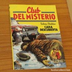 Libros de segunda mano: CLUB DEL MISTERIO 87 CARA DESCUBIERTA, SIDNEY SHELDON. EDITORIAL BRUGUERA. Lote 246033550