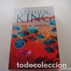 Libros de segunda mano: STEPHEN KING: FIN DE GUARDIA. Lote 246069015