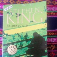 Libros de segunda mano: COLORADO KID. STEPHEN KING. DEBOLSILLO.. Lote 246089115