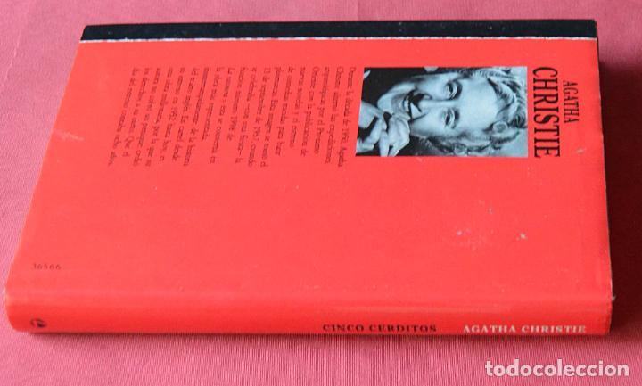Libros de segunda mano: CINCO CERDITOS - AGATHA CHRISTIE - Foto 2 - 246136870