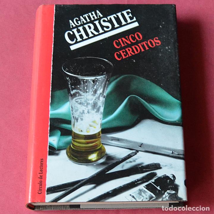 CINCO CERDITOS - AGATHA CHRISTIE (Libros de segunda mano (posteriores a 1936) - Literatura - Narrativa - Terror, Misterio y Policíaco)