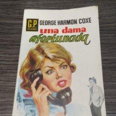 Libros de segunda mano: UNA DAMA AFORTUNADA GEORGE HARMON COCHE G.P POLICIACA. Lote 246358380