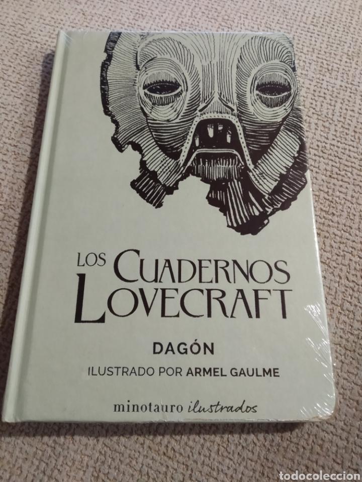 CUADERNOS LOVECRAFT Nº 01DAGÓN H.P. LOVECRAFT . PRECINTADO (Libros de segunda mano (posteriores a 1936) - Literatura - Narrativa - Terror, Misterio y Policíaco)