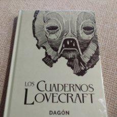 Libros de segunda mano: CUADERNOS LOVECRAFT Nº 01DAGÓN H.P. LOVECRAFT .. Lote 246800835