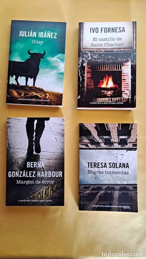 Libros de segunda mano: LA MEJOR NOVELA NEGRA DE HABLA HISPANA - VARIOS AUTORES ( 13 LIBROS) - RBA 2015 - Foto 2 - 247023860
