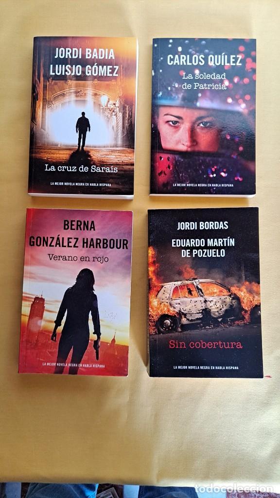 Libros de segunda mano: LA MEJOR NOVELA NEGRA DE HABLA HISPANA - VARIOS AUTORES ( 13 LIBROS) - RBA 2015 - Foto 4 - 247023860