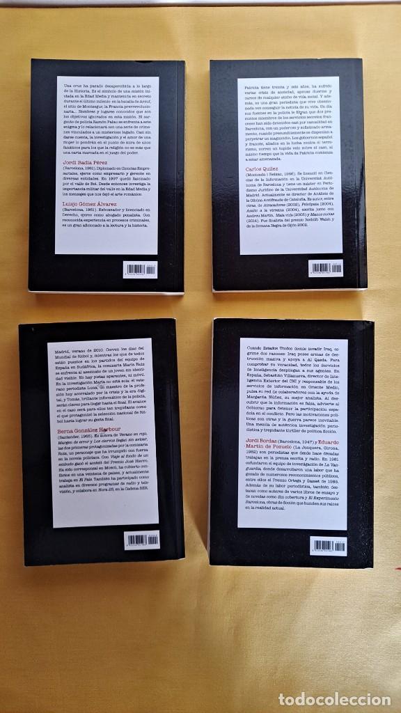 Libros de segunda mano: LA MEJOR NOVELA NEGRA DE HABLA HISPANA - VARIOS AUTORES ( 13 LIBROS) - RBA 2015 - Foto 5 - 247023860