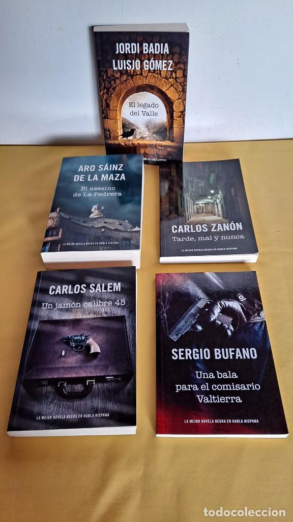 Libros de segunda mano: LA MEJOR NOVELA NEGRA DE HABLA HISPANA - VARIOS AUTORES ( 13 LIBROS) - RBA 2015 - Foto 6 - 247023860