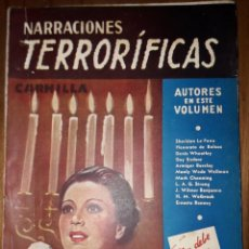 Livres d'occasion: NARRACIONES TERRORIFICAS VOL. 7, ED.MOLINO, BUENOS AIRES 1942, PULP. Lote 248586790