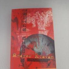 Libros de segunda mano: LA HORA ANIMAL. Lote 249093420