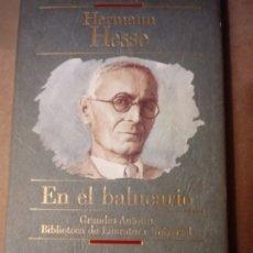 Libros de segunda mano: EN EL BALNEARIO DE HERMANN HESSE. Lote 250255480