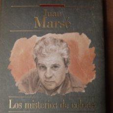 Libros de segunda mano: LOS MISTERIOS DE COLORES DE JUAN MARSE.. Lote 251010045
