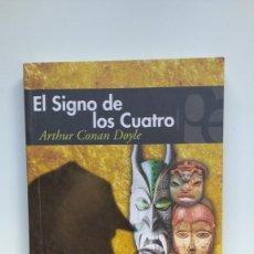 Libros de segunda mano: EL SIGNO DE LOS CUATRO - ARTHUR CONAN DOYLE - PLUTÓN EDICIONES. Lote 271021763
