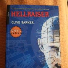 Libros de segunda mano: HELLRAISER. CLIVE BARKER. PRIMERA EDICIÓN.. Lote 251544620