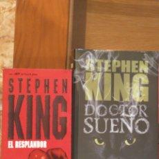 Libros de segunda mano: EL RESPLANDOR 1 Y 2. STEPHEN KING.. Lote 251547435