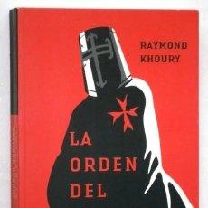 Libros de segunda mano: LA ORDEN DEL TEMPLE POR RAYMOND KHOURY DE ED. URANO / UMBRIEL EN MADRID 2006. Lote 252624125