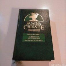 Libros de segunda mano: AGATHA CHRISTIE OBRAS COMPLETAS 6. Lote 252679320