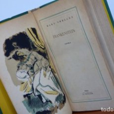 Libros de segunda mano: FRANKENSTEIN - MARY SHELLEY - LA PLÉYADE (JOSÉ JANÉS) 1944 - PRIMERA EDICIÓN ESPAÑOLA. Lote 253261245