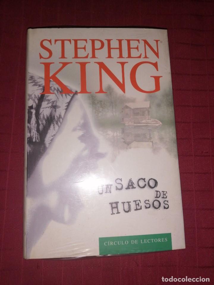 STEPHEN KING , UN SACO DE HUESOS (Libros de segunda mano (posteriores a 1936) - Literatura - Narrativa - Terror, Misterio y Policíaco)