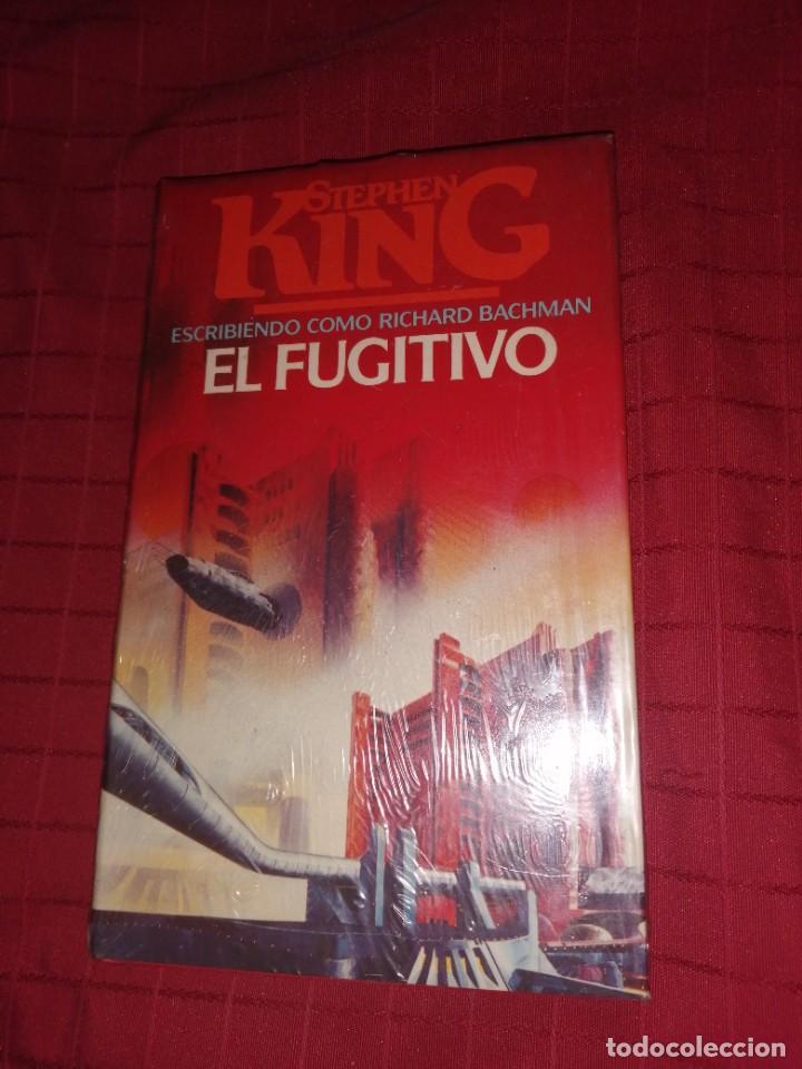 EL FUGITIVO - KING, STEPHEN (Libros de segunda mano (posteriores a 1936) - Literatura - Narrativa - Terror, Misterio y Policíaco)