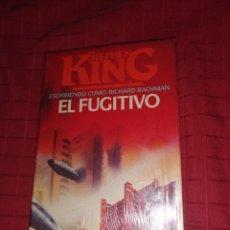 Libros de segunda mano: EL FUGITIVO - KING, STEPHEN. Lote 253354995