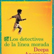 Libri di seconda mano: LOS DETECTIVES DE LA LÍNEA MORADA. Lote 253477600