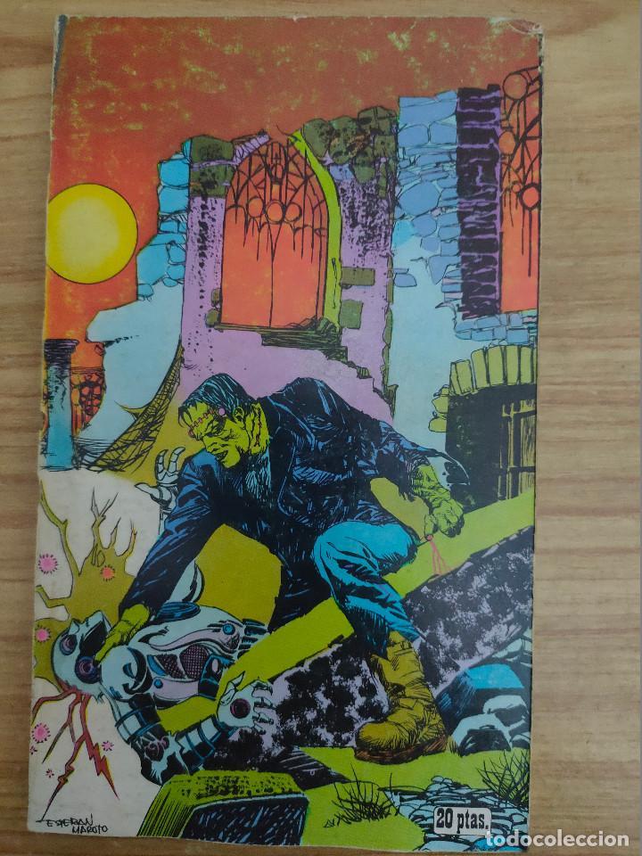Libros de segunda mano: Frankenstein y el robot (Don Glut) Buru Lan - Esteban Maroto - Foto 2 - 253576980