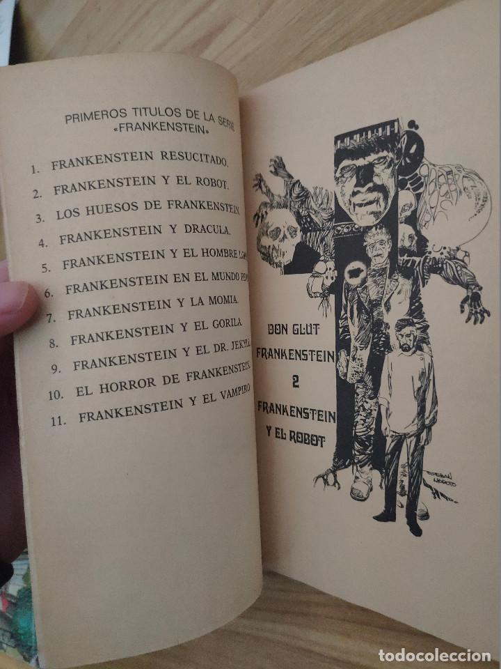 Libros de segunda mano: Frankenstein y el robot (Don Glut) Buru Lan - Esteban Maroto - Foto 4 - 253576980