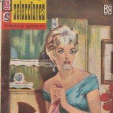 Livres d'occasion: SERVICIO SECRETO - Nº 6 - EL CANTO DEL HACHA - BOLSILIBRO BRUGUERA AÑOS 60. Lote 253640280