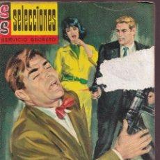 Livres d'occasion: SERVICIO SECRETO - Nº 10 - SEMANA NEGRA - BOLSILIBRO BRUGUERA AÑOS 60. Lote 253640555
