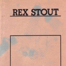 Libros de segunda mano: MUERTE DE UNA ENTRETENIDA - REX STOUT - ED DESTINO 1986. Lote 254337645