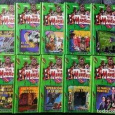 Libros de segunda mano: TODOS MIS MONSTRUOS THOMAS BREZINA (2002) COLECCIÓN COMPLETA 10 COMICS LIBRO CIRCULO DE LECTORES. Lote 254706795