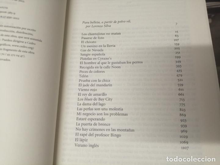 Libros de segunda mano: RAYMOND CHANDLER . TODOS LOS CUENTOS . SERIE NEGRA. EDICIÓN RBA . 1ª EDICIÓN 2012 . UNA JOYA!! - Foto 3 - 254712440