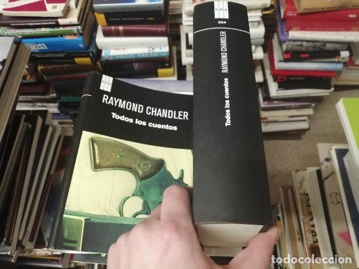 Libros de segunda mano: RAYMOND CHANDLER . TODOS LOS CUENTOS . SERIE NEGRA. EDICIÓN RBA . 1ª EDICIÓN 2012 . UNA JOYA!! - Foto 10 - 254712440
