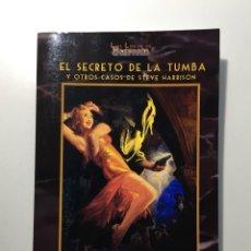 Libros de segunda mano: EL SECRETO DE LA TUMBA Y OTROS CASOS - ROBERT E. HOWARD. Lote 254730475