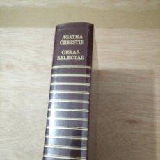 Libros de segunda mano: AGHATA CHRISTIE - OBRAS SELECTAS , CARROGIO COLECCION POLICIACA. Lote 254838115