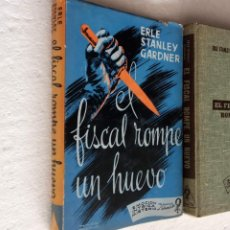 Libros de segunda mano: ERLE STANLEY GARDNER - EL FISCAL ROMPE UN HUEVO - EMOCIÓN, INTRIGA, MISTERIO 1957 LABERINTO. Lote 255004935