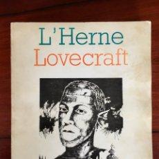 Libros de segunda mano: H.P. LEVECRAFT / DIRIGÉ PAR FRANÇOIS TRUCHAUD. PARIS: ÉD. DE L'HERNE. 1984. 383 P,. Lote 256064155
