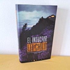 Libros de segunda mano: LEE CHILD - EL INDUCTOR - EDICIONES B 2004. Lote 257496505