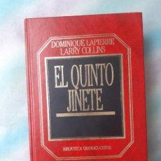 Libros de segunda mano: EL QUINTO JINETE (BIBLIOTECA GRANDES ÉXITOS). Lote 257542835