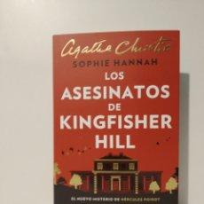 Libros de segunda mano: LOS ASESINATOS DE KINGFISHER HILL SOPHIE HANNAH. Lote 257558525