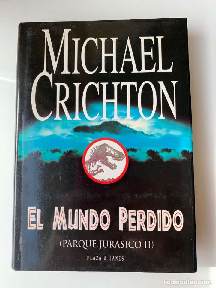 Libros de segunda mano: LIBRO El Mundo Perdido (JURASSIC PARK 2) PLAZA & JANÉS 1995 TAPA DURA parque jurásico 2 - Foto 2 - 262036505