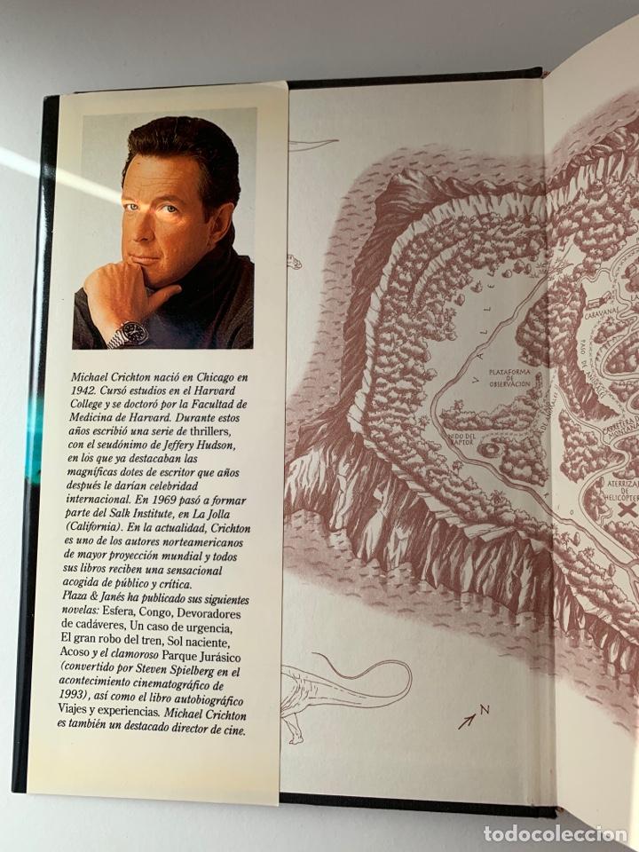 Libros de segunda mano: LIBRO El Mundo Perdido (JURASSIC PARK 2) PLAZA & JANÉS 1995 TAPA DURA parque jurásico 2 - Foto 4 - 262036505
