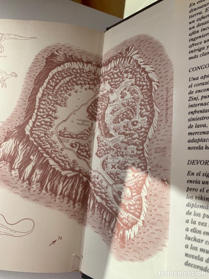 Libros de segunda mano: LIBRO El Mundo Perdido (JURASSIC PARK 2) PLAZA & JANÉS 1995 TAPA DURA parque jurásico 2 - Foto 6 - 262036505