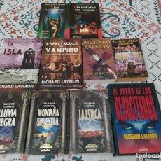 Libros de segunda mano: LOTE NOVELAS DE HORROR/TERROR 8 DE RICHARD LAYMON. ESCASAS Y DIFÍCILES DE ENCONTRAR.. Lote 262037515