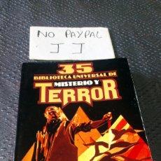 Libros de segunda mano: BIBLIOTECA UNIVERSAL TERROR Y MISTERIO EDICIONES UVE 35. Lote 262049505