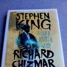 Libros de segunda mano: LA CAJA DE BOTONES DE GWENDY - STEPHEN KING - RICHARD CHIZMAR. Lote 262389190